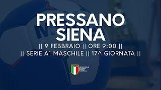Serie A1M [17^]: Pressano - Siena 31-23
