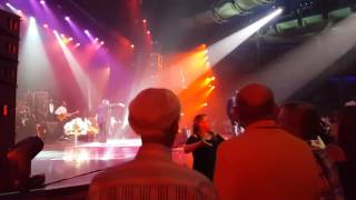 Patti LaBelle on stage Allure of the Seas president Cruise 2016