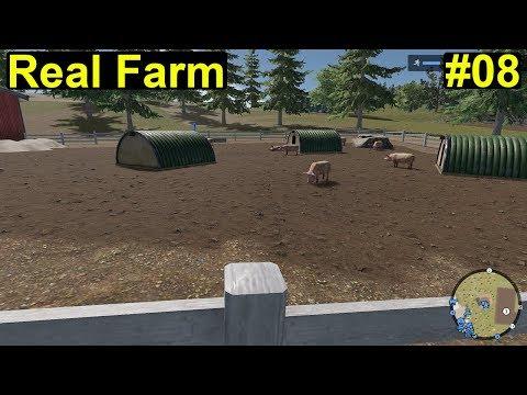 Real Farm - wir holen die ersten Tiere auf dem Hof #08 - Deutsch/German