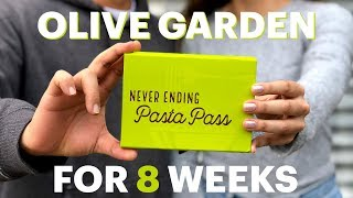 We Ate At Olive Garden For 8 Weeks