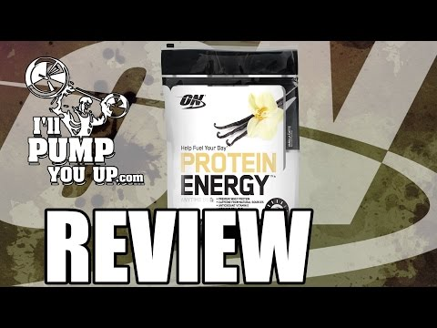 Optimum Nutrition Protein Energy Review and Taste Test