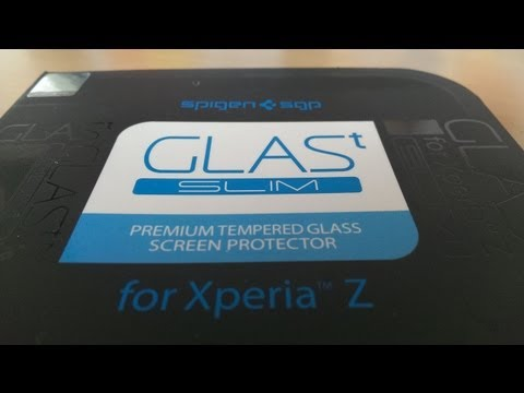 Spigen SGP GLAS t Slim Review for Sony Xperia Z