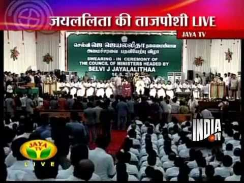 Jayalalithaa Sworn In As Tamil Nadu CM