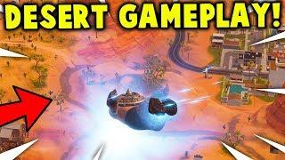*NEW* DESERT MAP GAMEPLAY! Season 5 Update GAMEPLAY! (Fortnite New Season 5)