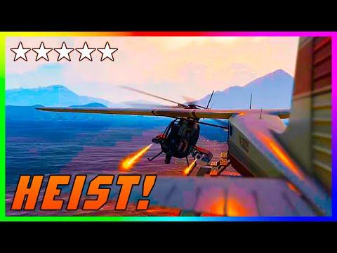 GTA 5 Online 'The Heist Life' - Insane Airplane Escape HEIST! (GTA V PS4 EPIC Custom Heists)