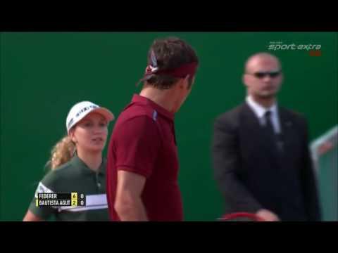Roger Federer v  Roberto Bautista Agut   Monte Carlo 2016 R3 Highlights HD