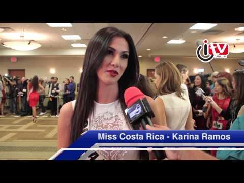 Interview Miss Costa Rica - Karina Ramos (24ora.com & iTV Channel 49)