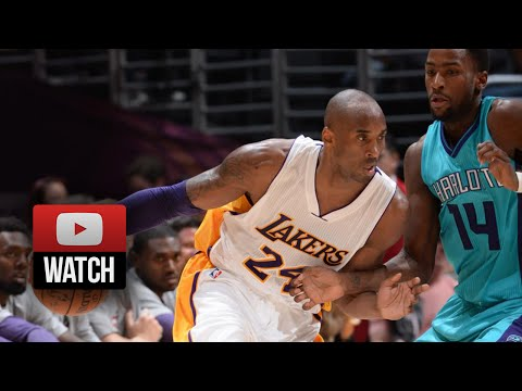 Kobe Bryant Full Highlights vs Hornets (2014.11.09) - 21 Pts, 6 Reb