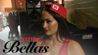 Nikki Bella Gets Emotional After Seeing Ex John at Rumble | Total Bellas | E!