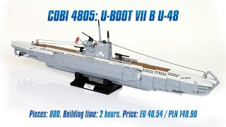 [COBI 4805] U-boot VII B U-48 review & speed build
