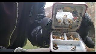Magnet Fishing - Found gold earings!! & Motorbike