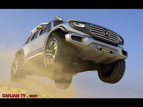 Mercedes G Class 2014 Ener-G-Force New G Class? Review 2015 CARJAM TV HD Mercedes G Wagon