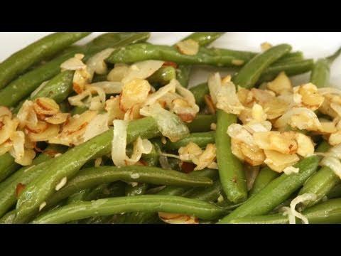 Garlic Green Bean Saute Recipe