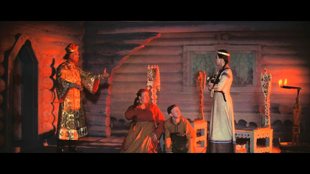 Сценка поздравление царь и бабариха