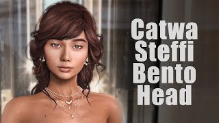 Catwa Steffi Bento Mesh Head in Second Life