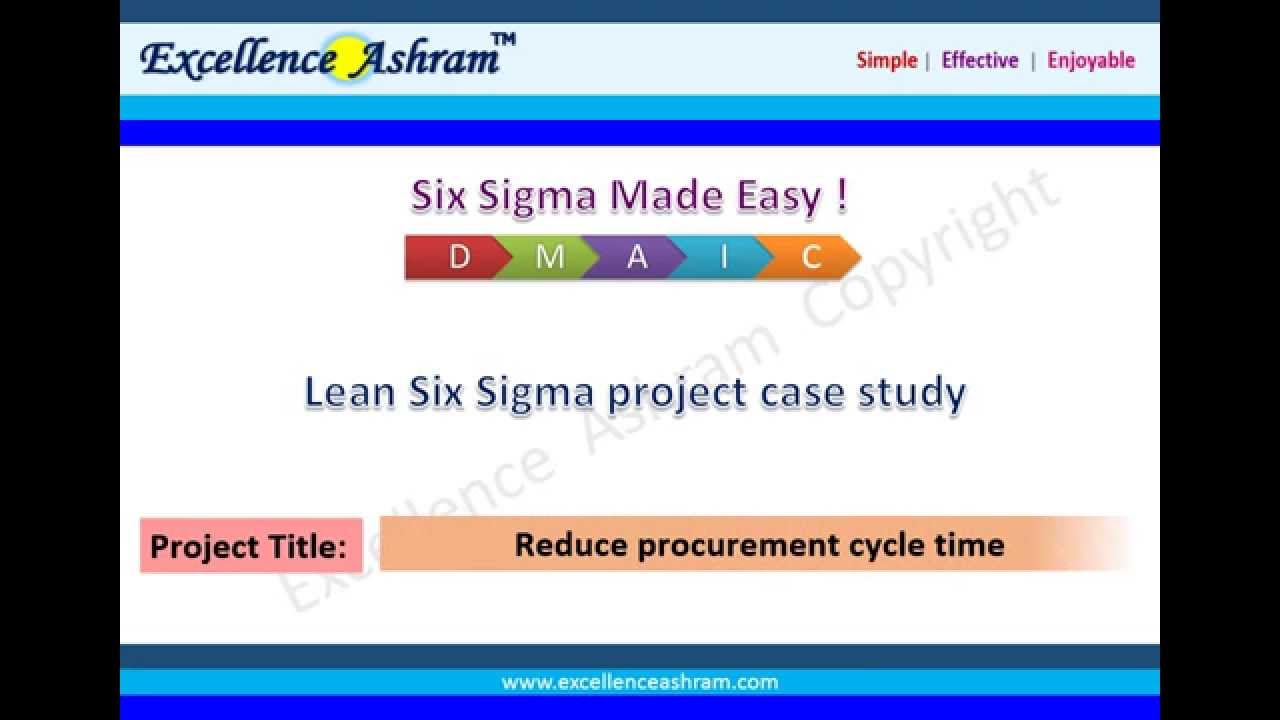 Application of Six-Sigma in finance: a case study