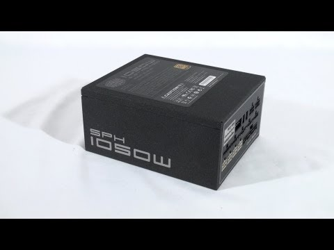 #1282 - Cooler Master Silent Pro Hybrid 1050W Power Supply Video Review