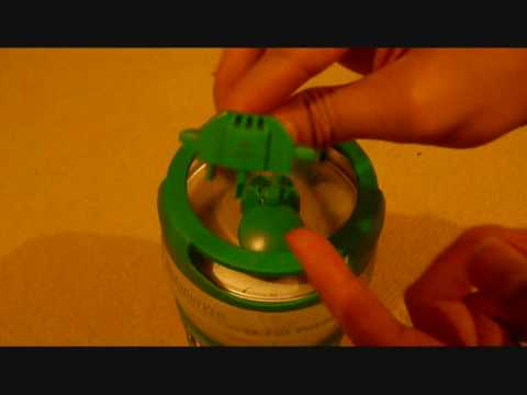 Heineken 5 litre Keg - Setting it up
