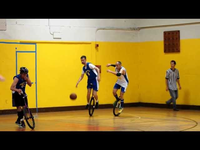Berkeley Revolution Unicycle Basketball