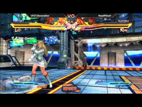 UFGT9 - UFGT | BananaKen Vs. RoyalPhlush - Street Fighter Cross Tekken Pools