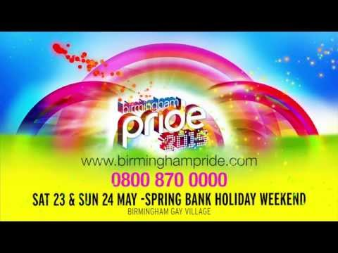 Birmingham Pride 2015 official video of line-up