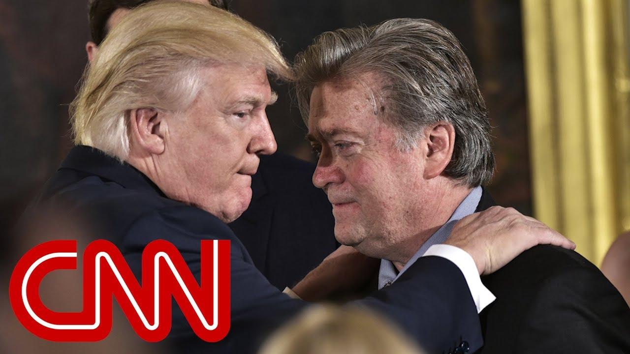 Trump: Steve Bannon cried when he got fired