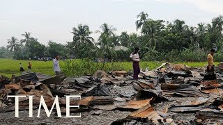 Myanmar Is Bulldozing Rohingya Villages In A Move Some Fear Is Erasing Evidence Of Atrocities  TIME