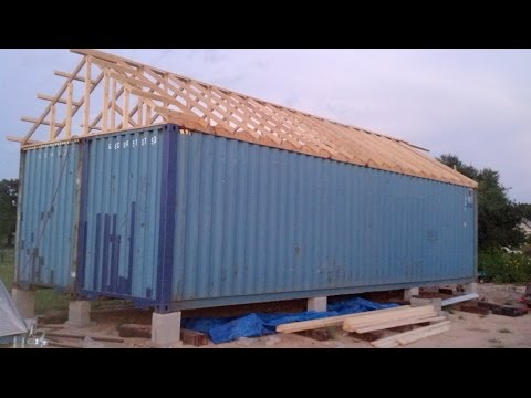 Container Home Build in pictures Part 1