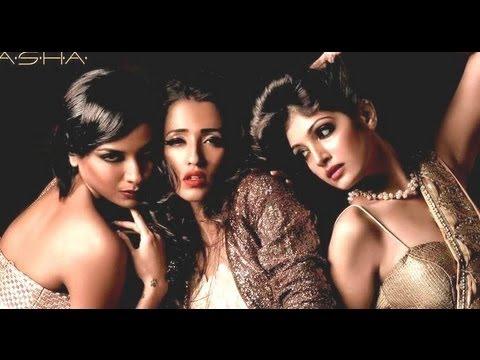 Indian Models Sizzling Photoshoot (diandra Soares & Iris Maity) By Amit Khanna   Divas For Lasha video
