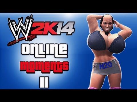 Wwe 2k14 Triple Threat Female Cage Match! video