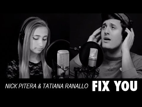 Fix You  Coldplay (piano cover) Nick Pitera Tatiana Ranallo Dominic Pitera