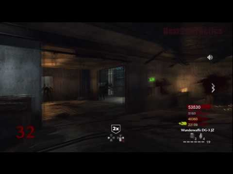 Call of Duty: World at War Nazi Zombies Der Riese 4-Player Strategy (Round 32)