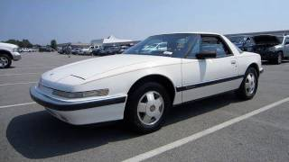 1988 Buick Reatta Start Up, Exhaust, and In Depth Tour