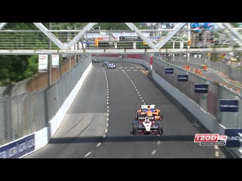2012 Honda Indy Toronto Race Highlights