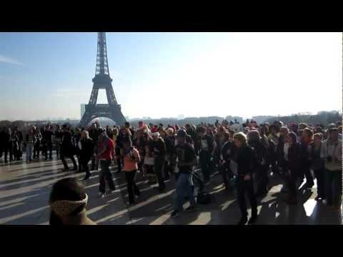 LMFAO Flash Mob in Paris