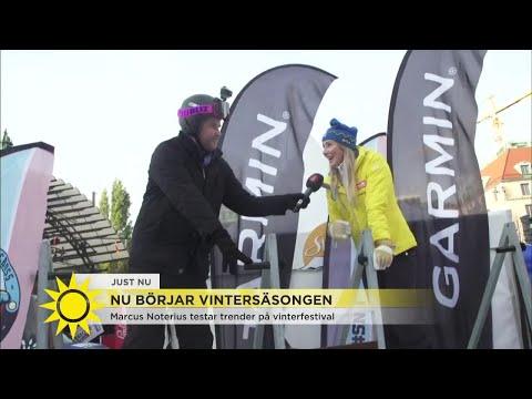 """Norrlandsreporten har åkt till Stockholm – för att åka skidor: """"Det här måste vara världsrekord?!"""" -"""