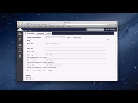 OwnCloud Part 2: Settings & Open Directory Integration