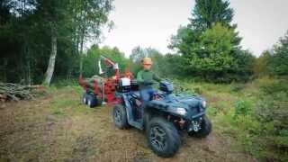 "ATV TIMBER TRAILER ""IB-1000""  ( ATV & UTV Accessories )"