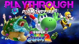 Super Mario Galaxy 2! Playthrough Ep1 oh yeah and mario kart frooms