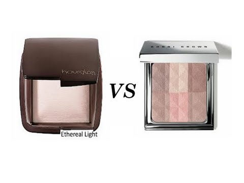 Hourglass Ambient Powder VS Bobbi Brown Brightening Powder {Review & Comparison}