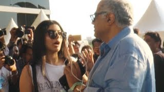 Star kid Jhanvi Kapoor gets SCOLDED by father Boney Kapoor | Watch Video