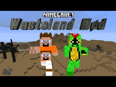 WASTELAND MOD SURVIVAL - EPISODE 1 - APOCALYPSE - SEASON 1 (Minecraft)