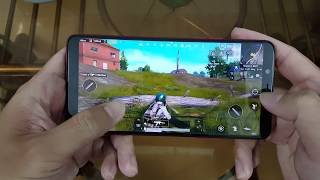 Test Game PUBG Mobile on OPPO F7 Youth