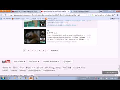 como ber videos restringidos de youtube para adultos 2012