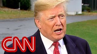 Trump reacts to heated exchange with CNN's Jim Acosta