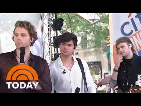 5 Seconds Of Summer Talk New Album 'Youngblood,' Touring | TODAY