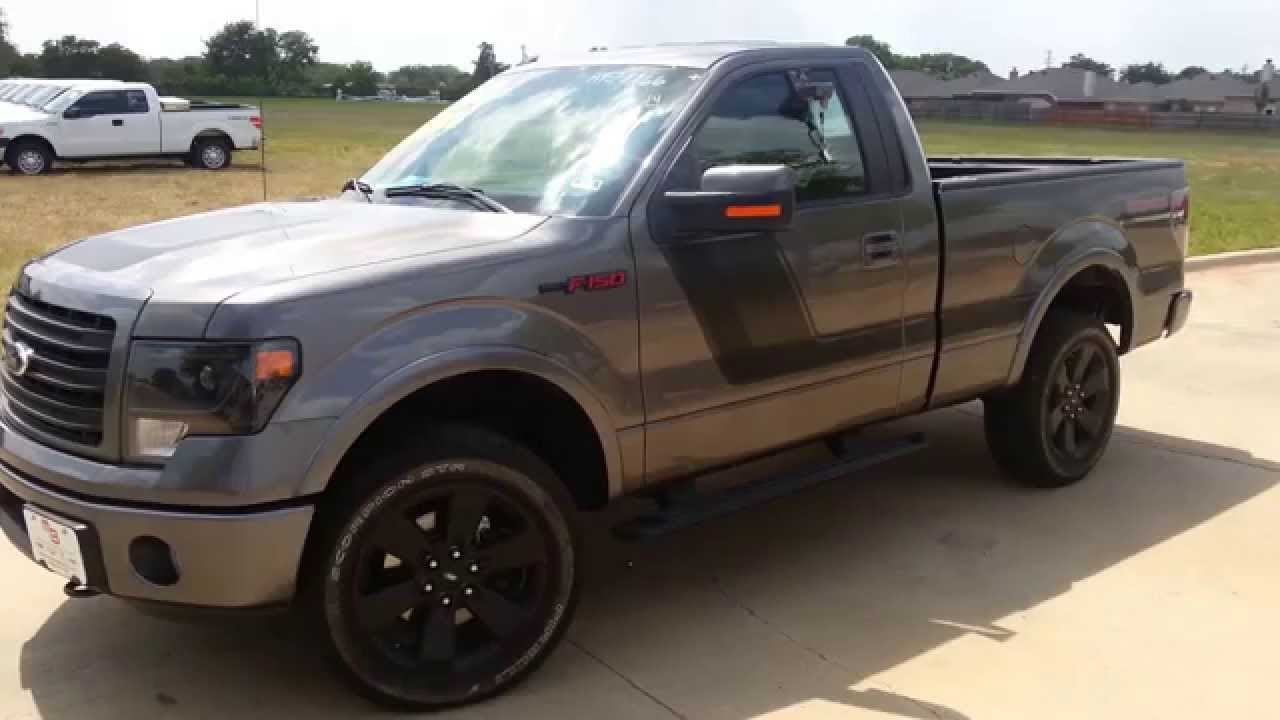 F 150 Tremor >> All New Loaded 2014 Ford F150 4wd Tremor Edition Texas Truck - YouTube