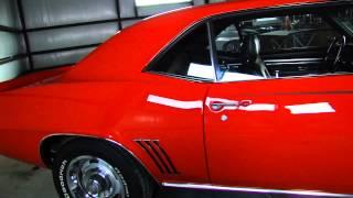 1969 Camaro Fuel Injected Frame Off Restored For Sale