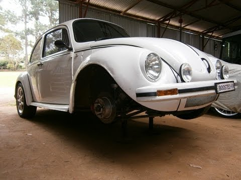 VW Super Beetle Balljoint replacement