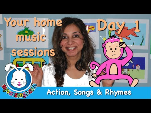 Daily Action Songs & Rhymes - Day 1 - Myvoxsongs video